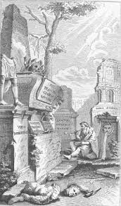 the project gutenberg ebook of pope s works of poetry  frontispiece to the essay on man designed by pope to represent the vanity of human glory