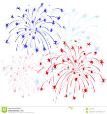 red white and blue fireworks clipart. Fireworks Red And Blue Throughout White Clipart