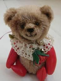 teddy bears handmade livemaster handmade teddy bear with leather paws teddybear