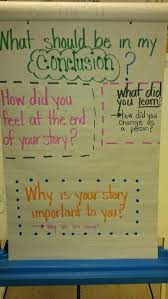 Writing My Conclusion In Personal Narrative Or Memoir Teaching