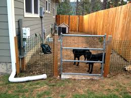 fence ideas for dogs.  Ideas Backyard Fence Ideas For Dogs 13 Diy Inside C