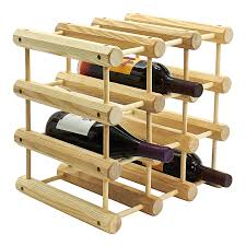 modular wine rack 12 bottle capacity by j k adams