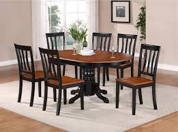 Oval Kitchen Table Sets Kitchen Oval Kitchen Table With Elegant Round Amp Oval Dining