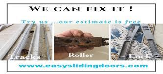 fixing sliding doors