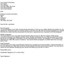 What To Put In A Cover Letter Gplusnick