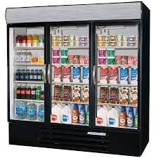 Stand Up Display Freezer Glass Door Freezers Merchandiser Freezers 45