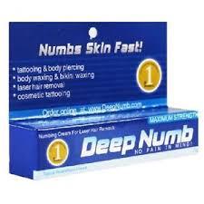 10g deep numb numbing cream tattoo body piercings waxing laser