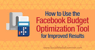 Budgeting Tools 2020 How To Use The Facebook Budget Optimization Tool For