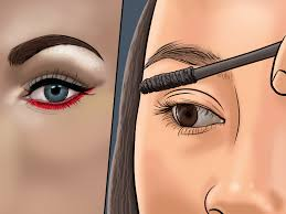 fashion makeup look for blue eyes magnificent 4 ways to wear neon eyeliner wikihow photo makeup look for blue eyes