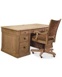 Image Table Workstation Main Image Main Image Macys Furniture Closeout Sherborne Home Office Furniture 2pc Set