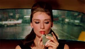 audrey hepburn breakfast at tiffany s and lipstick image