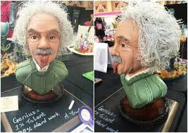 Cake In The Shape Of Einsteins Head Wins Best In Show From The