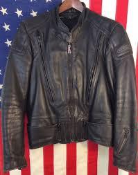 design hein gericke vented leather jacket