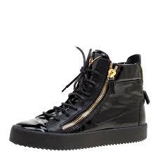 black patent leather high top sneakers size 40 nextprev prevnext