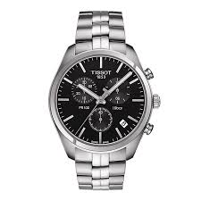 tissot watches quality swiss watches ernest jones watches tissot pr100 men s stainless steel bracelet watch product number 3519260