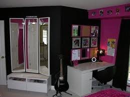 Wonderful U0027Lexieu0027s Hot Pink And Black Zebra Bedroomu0027 Collection   Photo # 2   More  Inspiration For A Hot Pink And Black Teen Room. Pictured Is The Desk And  Dressing ...