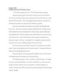 personal narrative essay examples middle school fresh essays video example and personal narrative essay sample dream job