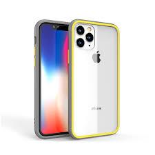 Ốp lưng likgus viền màu iphone 11 Pro Max