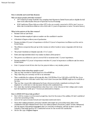 H1b Resume Resume For Your Job Application