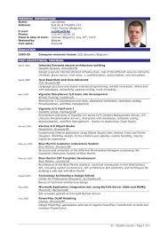 Excellent Resume Sample | Sample Resumes