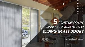 Modern Sliding Glass Door Designs 5 Contemporary Window Treatments For Sliding Glass Doors