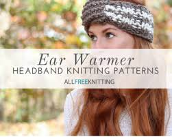Knit Ear Warmer Pattern Inspiration 48 Ear Warmer Headband Knitting Patterns AllFreeKnitting