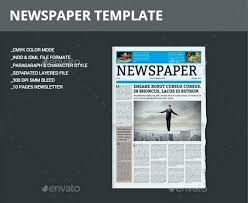 Free Indesign Newspaper Template Indesign Newspaper Template Justintimefeed Me