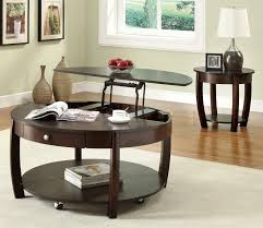 Wooden Coffee Tables With Drawers Cherry Wood Coffee Table With Drawers Jofran Rectangle