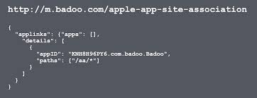 apple app site association. First, You Need To Add An Apple-app-site-association - Json File, Which Will Show Your AppID And The Paths That Should Be Opened By Application In Apple App Site Association A