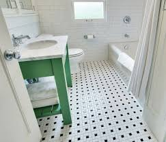 vintage bathroom floor tile new vintage black and white bathroom floor design ideas