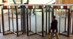 low maintenance high security and cost effectiveness make this automatic revolving door