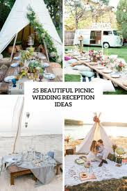 picnic wedding reception. 25 Beautiful Picnic Wedding Reception Ideas Weddingomania