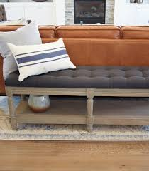 Jaison Tufted Bench – DOWNEAST