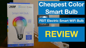 Menards Hue Lights Cheapest Color Smart Bulb Feit Electric A800_rgbw_ag