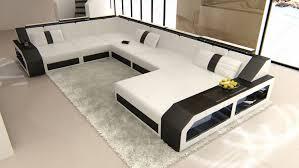 Sofa Wohnlandschaft Matera In Leder Als Xxl Version