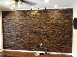 Small Picture Catchy Interior Stone Wall Brick And Stone Wall Ideas For A Houses