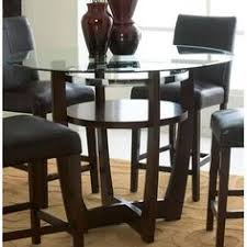 standard furniture apollo counter height gl top dining table well the contemporary geometric charm of the apollo counter height gl top dining table