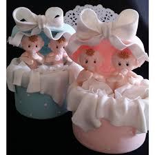 Twins Baby Shower Twins Babies Cake Topper Twin Girls Cake