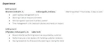 Auto Tech Resumes Mechanic Resume Sample Auto Mechanic Resume Auto Mechanic Resume