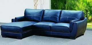navy blue leather sofa. 2017 Trendy Blue Leather Sofas For Bright Homes Navy Sofa