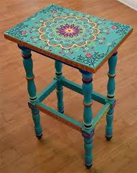 turquoise painted furniture ideas.  Painted Painted Tables Painting A Table Best Ideas Only  For Turquoise Painted Furniture Ideas S
