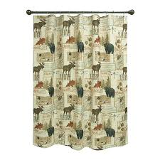 com bacova guild vintage outdoors fabric shower curtain designed by daphne home kitchen