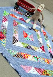 Perfect Prism Charm Friendly Baby Quilt Easy Baby Quilt By Hand ... & Perfect Prism Charm Friendly Baby Quilt Easy Baby Quilt By Hand Making Baby  Quilts Pattern Simple Adamdwight.com