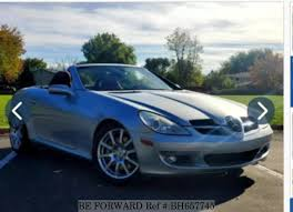 The third generation mercedes benz slk for sale that has been manufactured since 2011 is a design mix between its predecessor and the latest mercedes benz design language, bold grille, prominent logo, and sleek, smooth lines. Used 2005 Mercedes Benz Slk Roadster Slk350 For Sale Bh657745 Be Forward