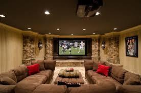 basement interior design ideas. Media Room Basement Remodel With Natural Decoration Interior Design Ideas N