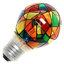 stained glass light bulbs watt volt medium base stained glass stained glass light bulb target