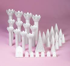 Romantic Castle Set Cake Toppers Wedding Accessories Main