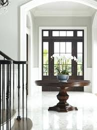 entry table height round foyer entry tables for wonderful round hall table entry table lamp height