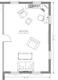 blueprint view of garage renovation