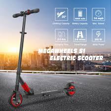 Megawheels Foldable <b>Electric Scooter Aluminum</b> 250W 23KPH E ...